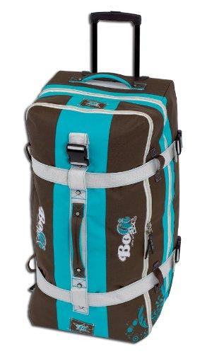 BoGi Bag Reisetrolley 110 Liter Reisetasche - Braun, Koffer, 85 cm, 110 L, Türkis Preisvergleich
