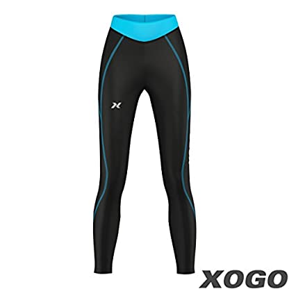XOGO Womens Compression Base layers for All Season - Long Sleeve Compression Tops and Legging – Sports Base layers for Women - For Running, Cycling and Yoga – UV Sun Protection and 4 Way Stretch 6