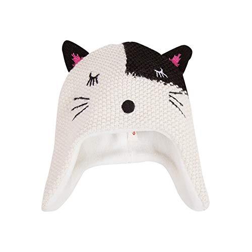 Catimini Mädchen Kätzchen-Mütze mit Weichem Fleece-Futter 46