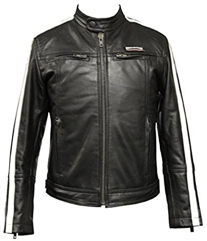 Childrens Leather Jacket - Size 26 /