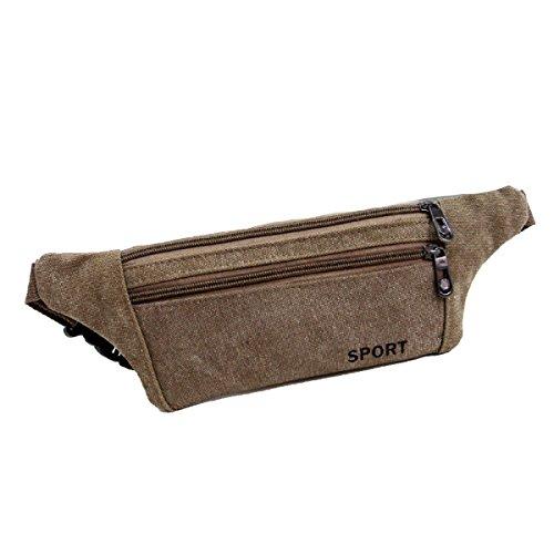 Multifunktionale Outdoor Fitness Sporttaschen Mehrfarbig Brown