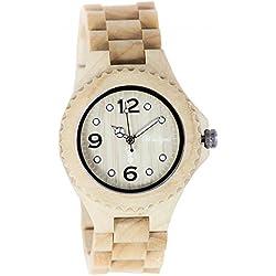 The Time Wood Watch Snow Chicken Hunter Trachten clock