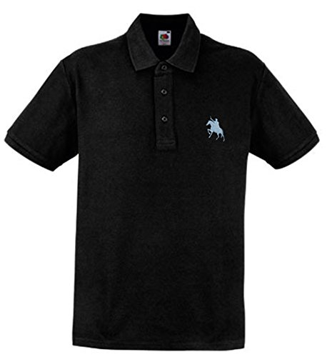 sultan-style-polo-a-gest-icktem-pferd-onglet-design-coton-heavy-polo-m-schwarz