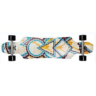 AREA Longboard-Komplettset bunt Einheitsgröße