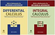 Skills in Mathematics - Integral Calculus+ Differential Calculus for JEE Main and Advanced 2020 (Set of 2 Book