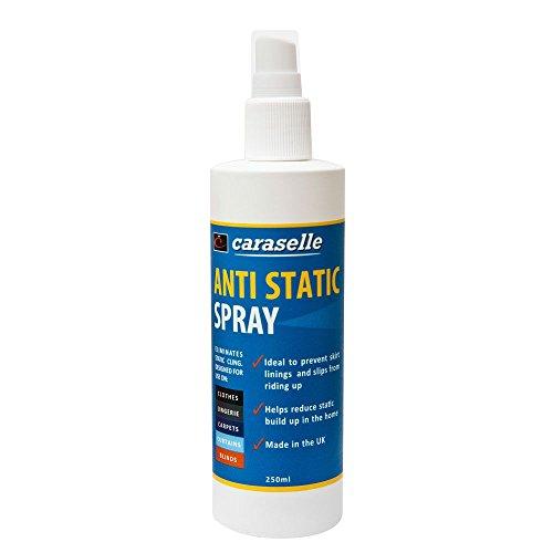 Antistatik-Spray 250ml–Beste Wert–Stop Statische Elektrizität und verhindern, die sich Pullover, Pullover und mehr. Hergestellt in Großbritannien