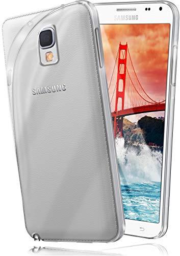 moex® Ultra-Clear Case [Vollständig Transparent] passend für Samsung Galaxy Note 3 Neo | rutschfest & extrem dünn - Fast unsichtbar, Klar
