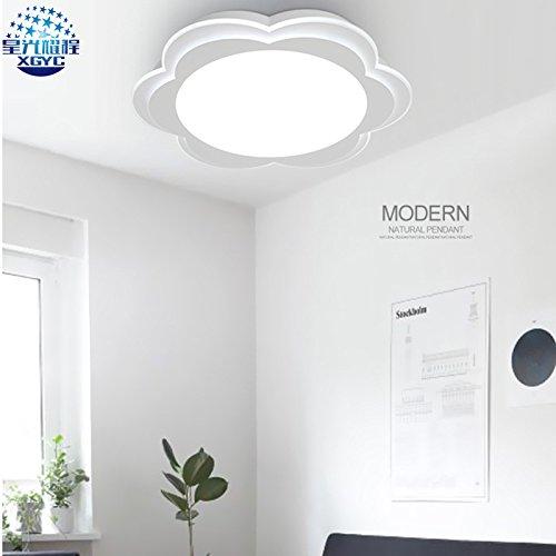 acrilico sottile ha portato a soffitto studio fiori circolari salone ristorante lampada da letto bambini spia di alimentazione 24-48w spessore 65 millimetri , 620