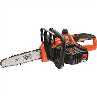 BLACK+DECKER 18V Cordless 25 cm Chainsaw with 2.0Ah Lithium Ion Battery