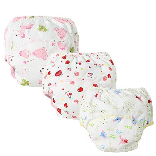 Baby Trainerhosen Lernwindel Windelhose Wasserdicht Trainer Windelhosen Unterwäsche für Kleinkinder Mädchen Jungen B 100