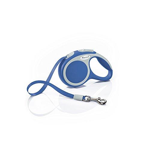 Flexi Vario Tape Leash XS - L, X-Small, 10 ft, blau -