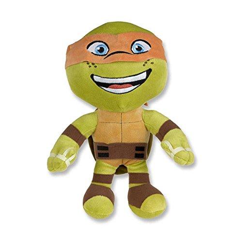 htier Stoffpuppe Kuscheltier Plüsch Stofftier Stoff (orange) (Orange Ninja Turtle)