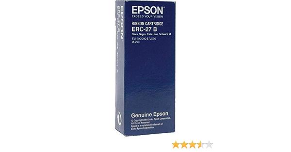 /Premium Nylon Band/ /Nero Original nastro per stampante adatto per Epson 290/Series Epson ERC27B C43S015366/