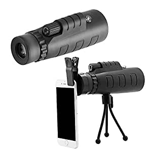 Moblios Mobile Telescope Lens kit for All Mobile Camera | DSLR Blur Background Effect [ Android & iOS Devices ] (Panda Lense)