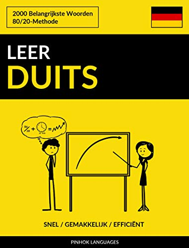Leer Duits - Snel / Gemakkelijk / Efficiënt: 2000 Belangrijkste Woorden (Dutch Edition)