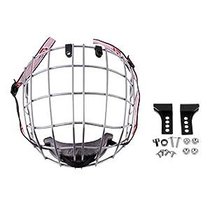 perfk A3 Stahl Gitter für Eishockey Helm Schutzhelm Gesichtsschutz Schutzgitter