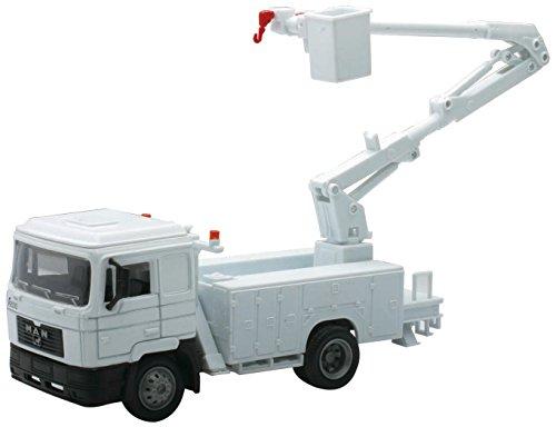 New Ray 15500-Utility Trucks Man F2000Line Maintenance, Maßstab 1: 43, Die Cast