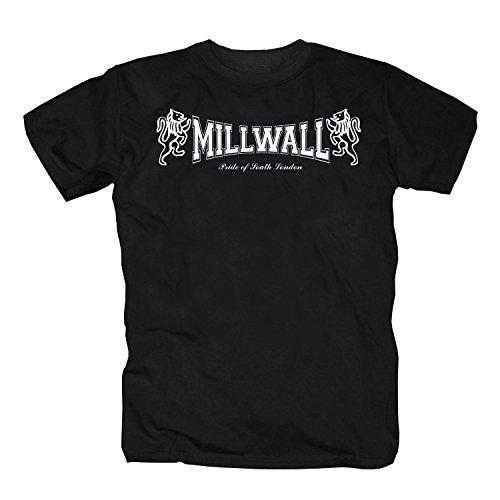 3b8d147f299 shirtmachine - Camiseta - para Hombre Negro Small
