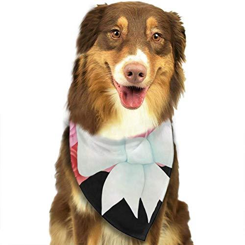 Osmykqe Hund Bandana Valentine Kranz Lätzchen Trangle Kopftuch für Katzen Pupply Big Dog Soft (Valentines Kranz)