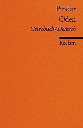 Oden: Griech. /Dt (Reclams Universal-Bibliothek)