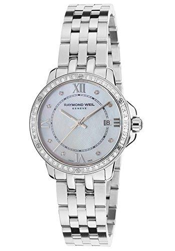 Raymond Weil Tango Femme Blanc Mop Cadran Diamant montre 5391-sts-00995