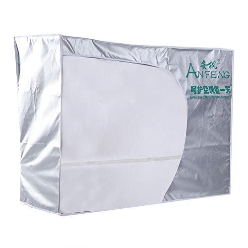 Aria condizionata copertura finestra esterna universale dimensioni aria condizionata esterna quadrato copertura completa anti-polvere anti-neve impermeabile a prova di sole per unità home(3p)