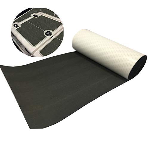 yuanjiasheng 7.87x 2.95ft Pure Farbe Schaum Teak Bodenbelag Fußboden Teak Selbstklebend Fit für Yacht und Wohnmobil