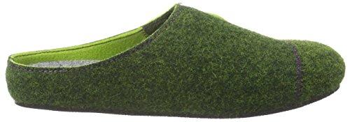 Rohde - Salla-d, Pantofole Donna Verde (Grün (60 Gruen))