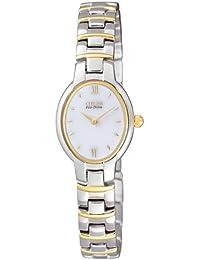 Citizen Damen-Armbanduhr Analog Quarz Edelstahl EW9554-56A