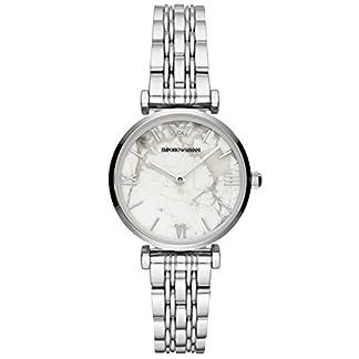 Emporio Armani Reloj Analógico para Mujer de Cuarzo con Correa en Acero Inoxidable AR11170
