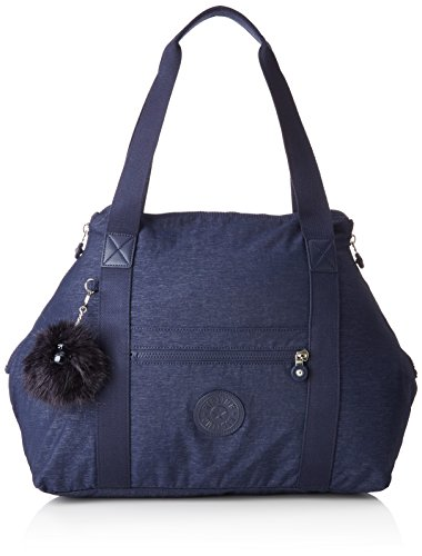 Kipling ART M Sac de plage, 58 cm, 26 liters, Bleu (Spark Night)