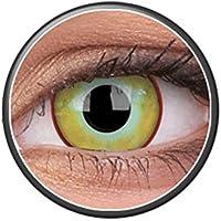 Kontaktlinsen Festive ohne Stärke Phantasee Modell Fancy Lens 14mm Yellow Plague