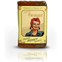 Sassy Honey Oatmeal all natural glycerin BAR SOAP Cinnamon Oats Vanilla by Filthy Farmgirl