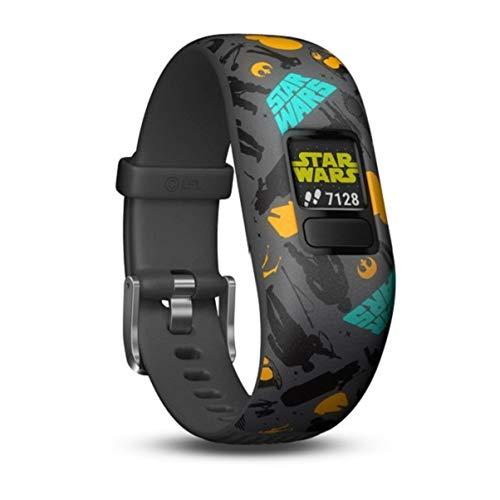Garmin vívofit jr. 2, wasserdichte Action Watch für Kinder – Star Wars mit Abenteuer-App, grau