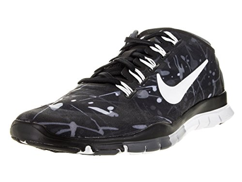 Nike Free Tr Connect 2 Sz 6 Womens Cross Training Schuhe Schwarz Neu im Kasten Black/White/Wolf Grey/Drk Grey