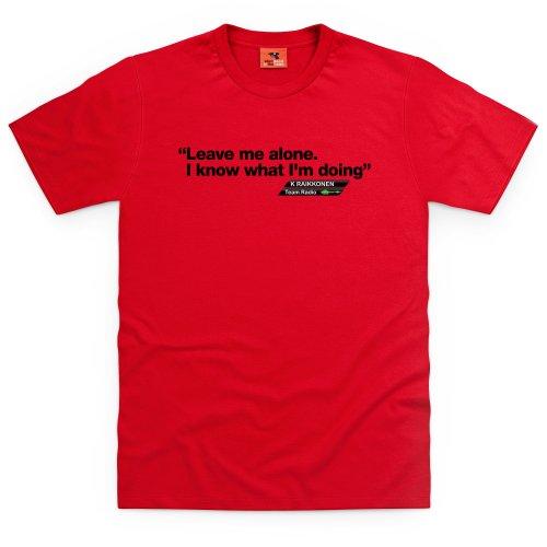 Kimi Raikkonen T-shirt, Uomo Rosso