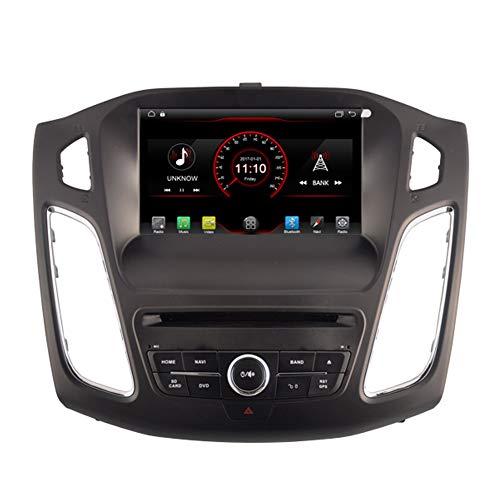 Autosion Android 8.1 Auto DVD Player GPS Stereo HeadUnit Navi Radio Multimedia WiFi für Ford Focus 2012 2013 2014 2015 Unterstützung Lenkradsteuerung
