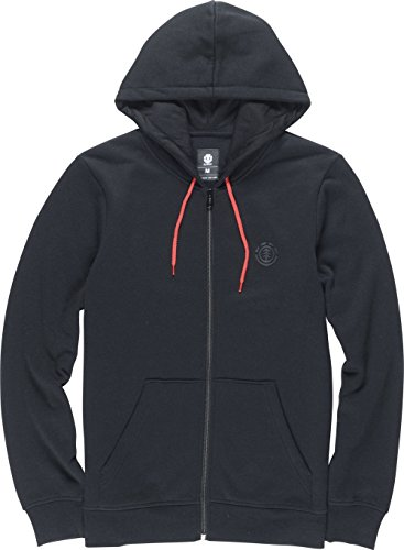 Element Cornell Zip Hoodie DWR Black