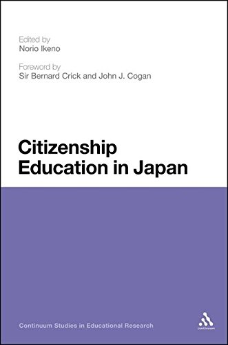 Citizenship Education in Japan (Continuum Studies in Educational Research)