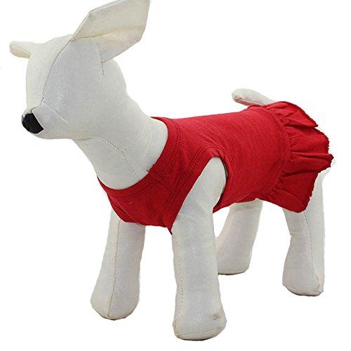 longlongpet Pet Kleidung Klein Hund Kleidung Blanko Sport -