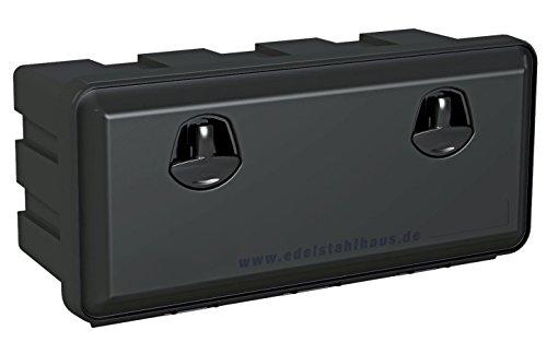 LKW Staukasten aus Kunststoff 750x350x300mm 40 ltr, Werkzeugkasten, Staubox, Unterbaubox für Nutzfahrzeuge Anhänger, Staubox, Werkzeugkiste, Gurtkiste, Deichselbox, Daken Just, Daken J040