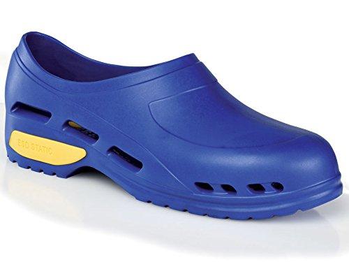 Scarpa professionale ultra leggera, zoccoli sanitari in gomma, mizura 40, colore blu