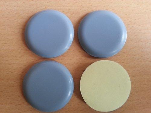 4-stuck-teflon-mobelgleiter-oe-40-mm-selbstklebend-ptfe-gleiter-teflongleiter