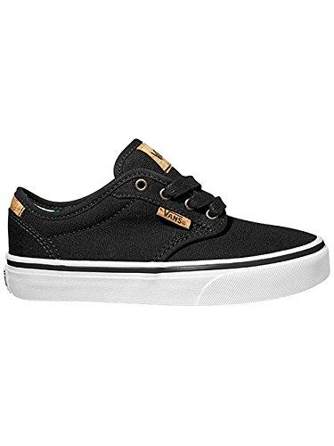 Vans  Y ATWOOD DELUXE,  Unisex-Kinder Sneaker Schwarz - (10oz canvas) black/blank/noir