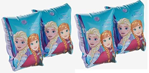 BWR Schwimmflügel Disney Die Eiskönigin Anna und ELSA aufblasbar, für Kinder im Alter von 3-6 Jahren