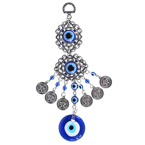 Jewelry & Accessories Jewelry Sets & More 1pc 49*38*7mm Fashion Blue Evil Eye Drop Water Charms Pendant Jewelry Fitting Women Diy Necklace Pendant For Family Gift