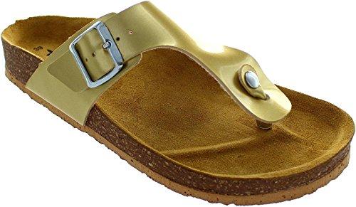 Tamaris Pantolette 1-27135-36 909 Light Gold (909)