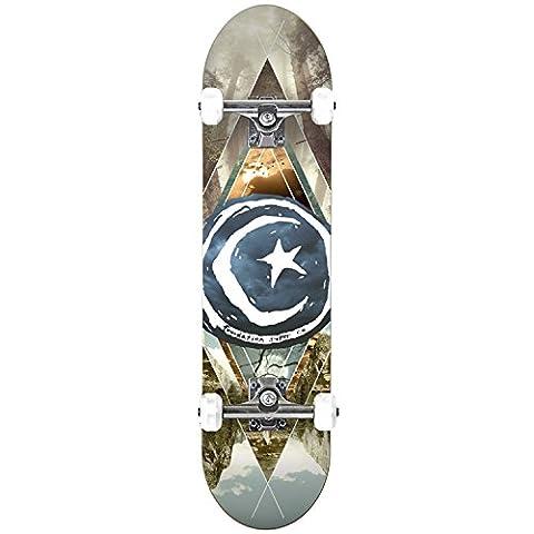 Foundation Star & Moon Complete Skateboard - Geometry 8.125