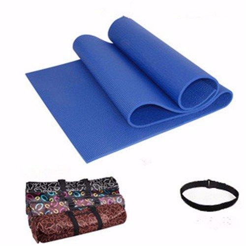 Sly982h Materassino Yoga equilibrio dello spessore di tampone di allargare la supina seduta Pad Fitness , blu scuro