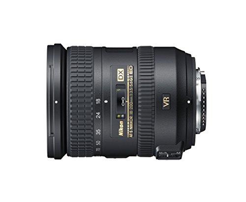 Nikon AF-S DX NIKKOR 18-200mm f/3.5-5.6 G ED VR II Negro - Objetivo (16/12, 0,5...
